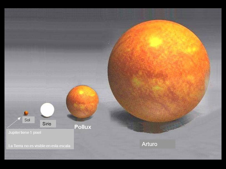 Antares es la 15ava estrella mas brillante en el cielo.