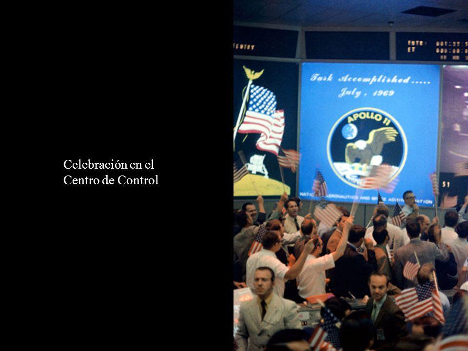 Celebración en el Centro de Control