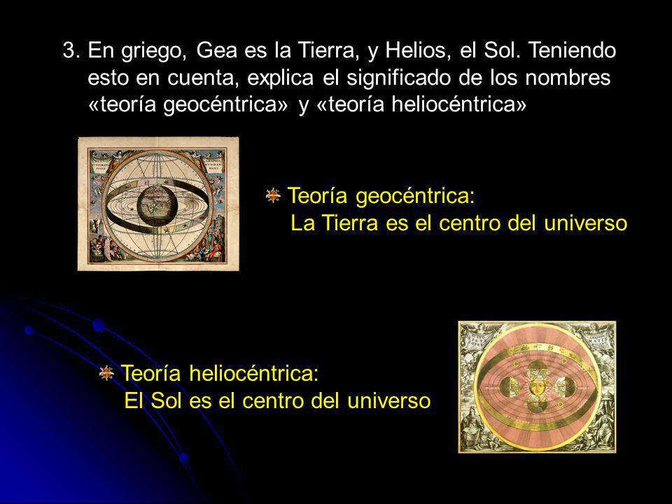 8.Explica qué son: Estrellas Cuerpo celeste en cuyo interior se producen reacciones nucleares de fusión que liberan gran cantidad de luz y calor