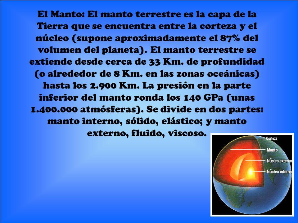 Facundo, Felipe y Nicolas 5º El Núcleo: El núcleo de la Tierra es su esfera central, la más interna de las que constituyen la estructura de la Tierra.