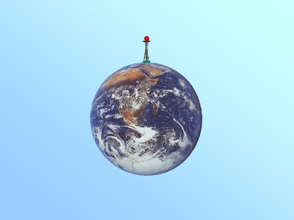 2000 m/s 4000 m/s 8000 m/s 9000 m/s ¿Qué ocurre si lanzamos horizontalmente con mucha velocidad una bola desde lo alto de una torre? Para comprobar lo