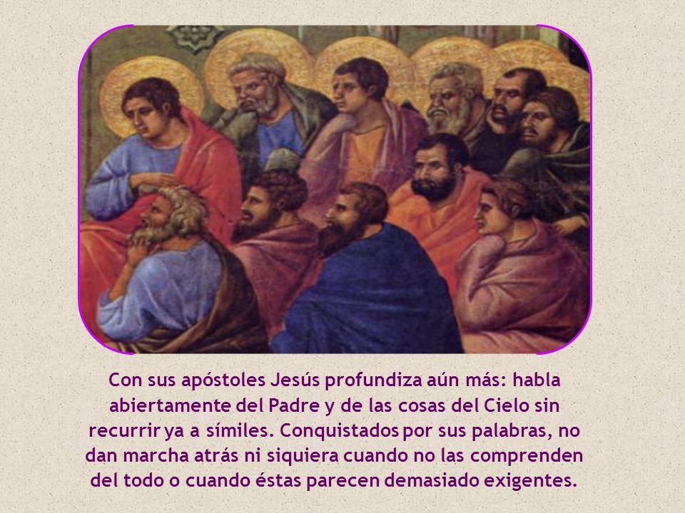 El Evangelio de Juan refiere coloquios luminosos con algunas personas, como Nicodemo o la samaritana.