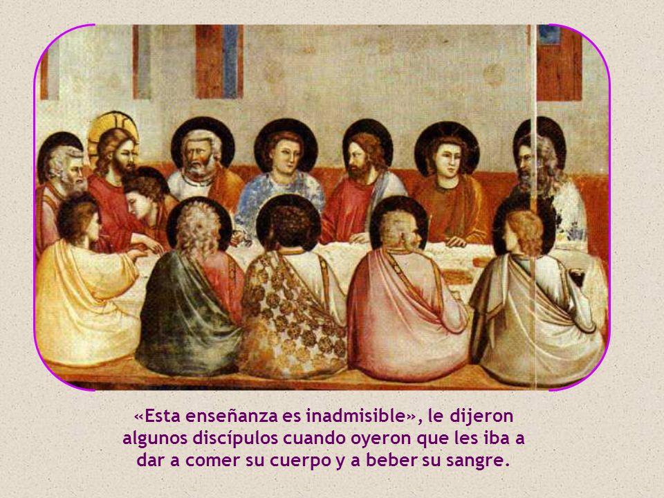 Con sus apóstoles Jesús profundiza aún más: habla abiertamente del Padre y de las cosas del Cielo sin recurrir ya a símiles.