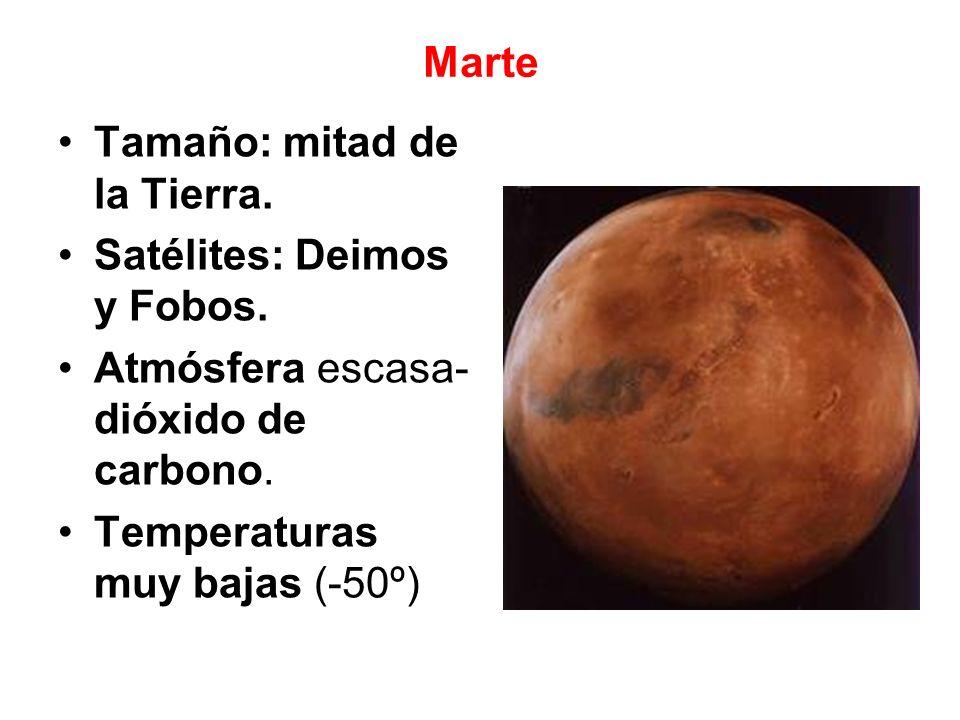6.Los planetas exteriores Los más alejados del Sol.