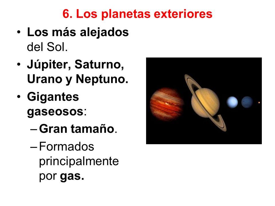 Júpiter Planeta el más grande del Sistema Solar.Once veces mayor que la Tierra.