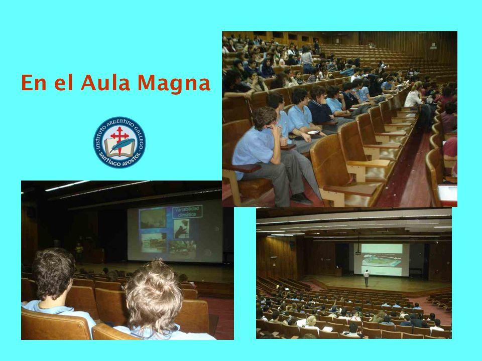 En el Aula Magna