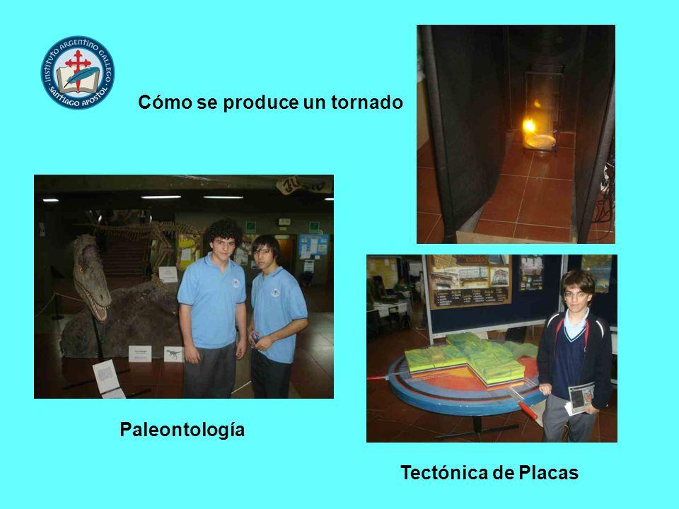 Cómo se produce un tornado Paleontología Tectónica de Placas