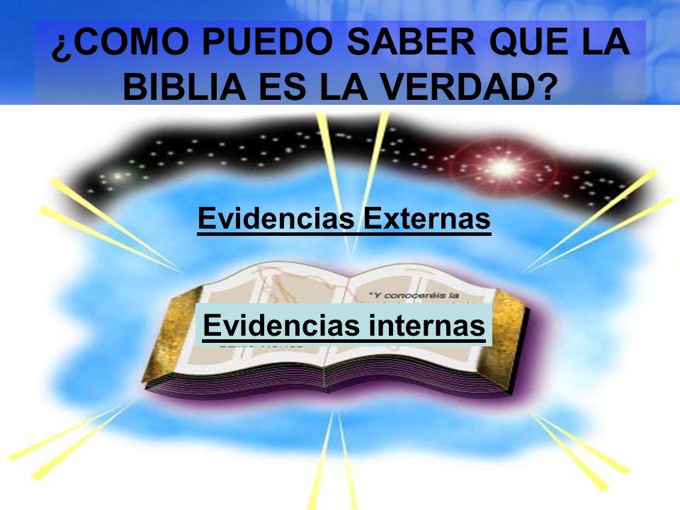 Evidencias internas: El Contenido de la Biblia Sólo la Biblia habla del pecado.