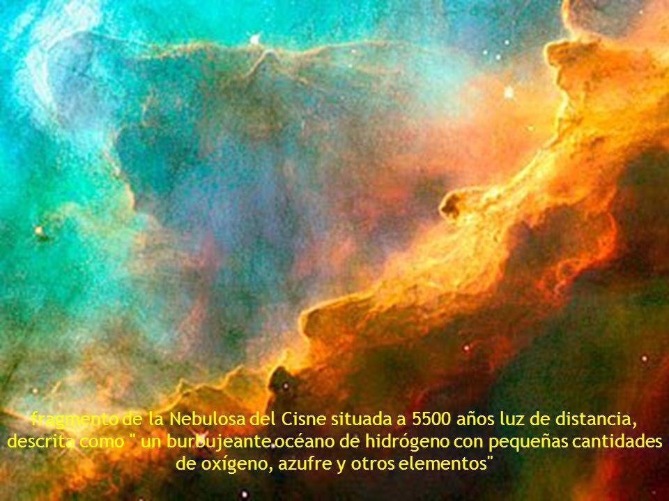 Nebulosa del Cono, a 2.5 años luz.