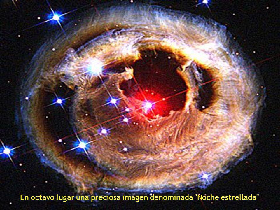 fragmento de la Nebulosa del Cisne situada a 5500 años luz de distancia, descrita como un burbujeante océano de hidrógeno con pequeñas cantidades de oxígeno, azufre y otros elementos