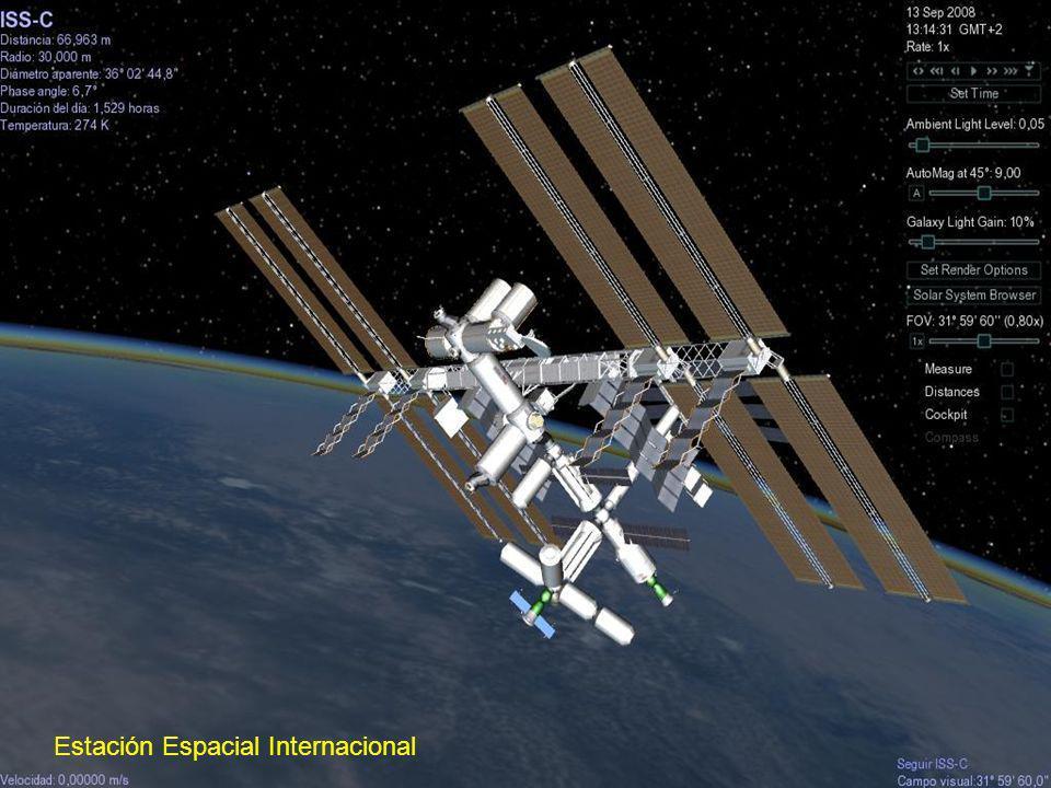 El Telescopio espacial Hubble es un telescopio robótico localizado en los bordes exteriores de la atmósfera, en órbita circular alrededor de la Tierra