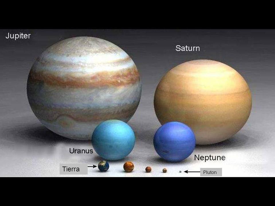Tierra PlutonMarteMercurio