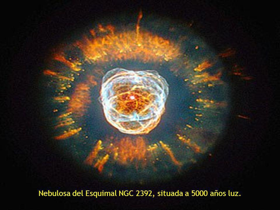 Nebulosa del Esquimal NGC 2392, situada a 5000 años luz.