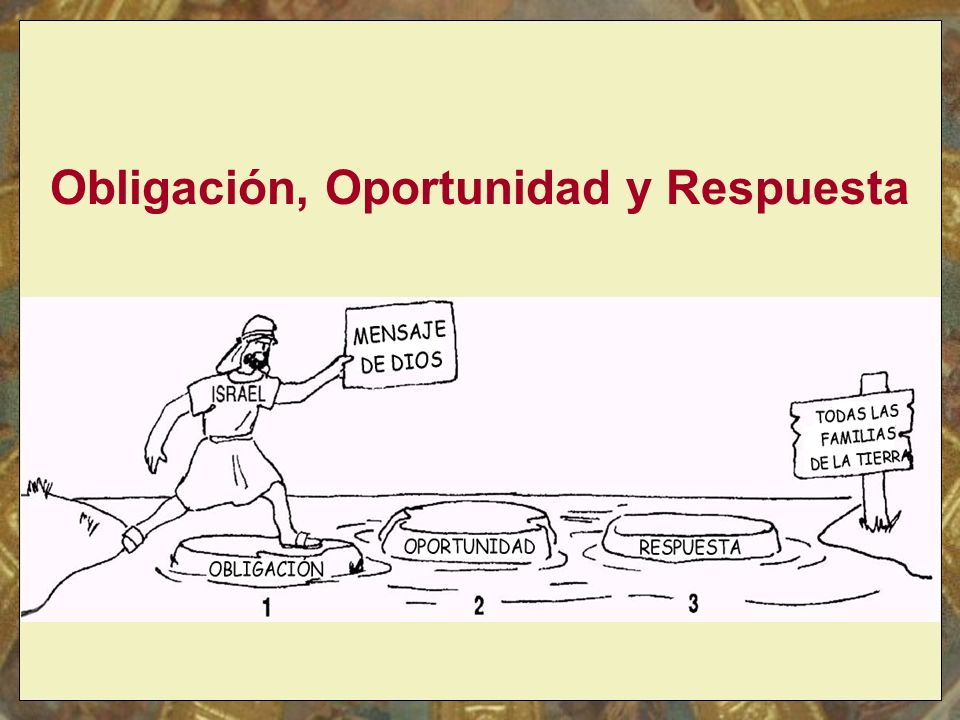 Obligación, Oportunidad y Respuesta