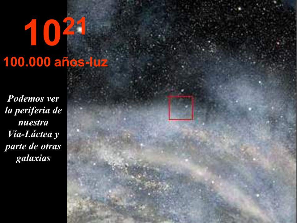Continuamos nuestro viaje dentro de Nuestra galaxia La Vía-Láctea 10 20 10.000 años-luz