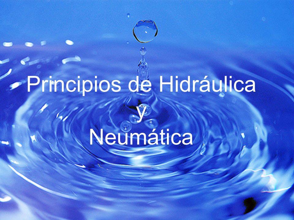 Principios de Hidráulica y Neumática