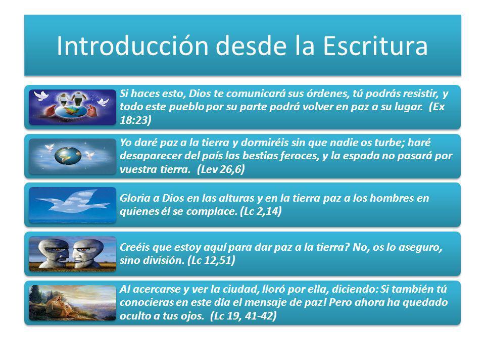 Introducción desde la Escritura Si haces esto, Dios te comunicará sus órdenes, tú podrás resistir, y todo este pueblo por su parte podrá volver en paz