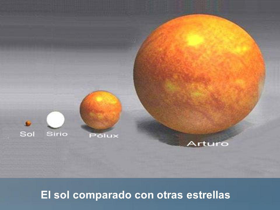 El sol comparado con otras estrellas