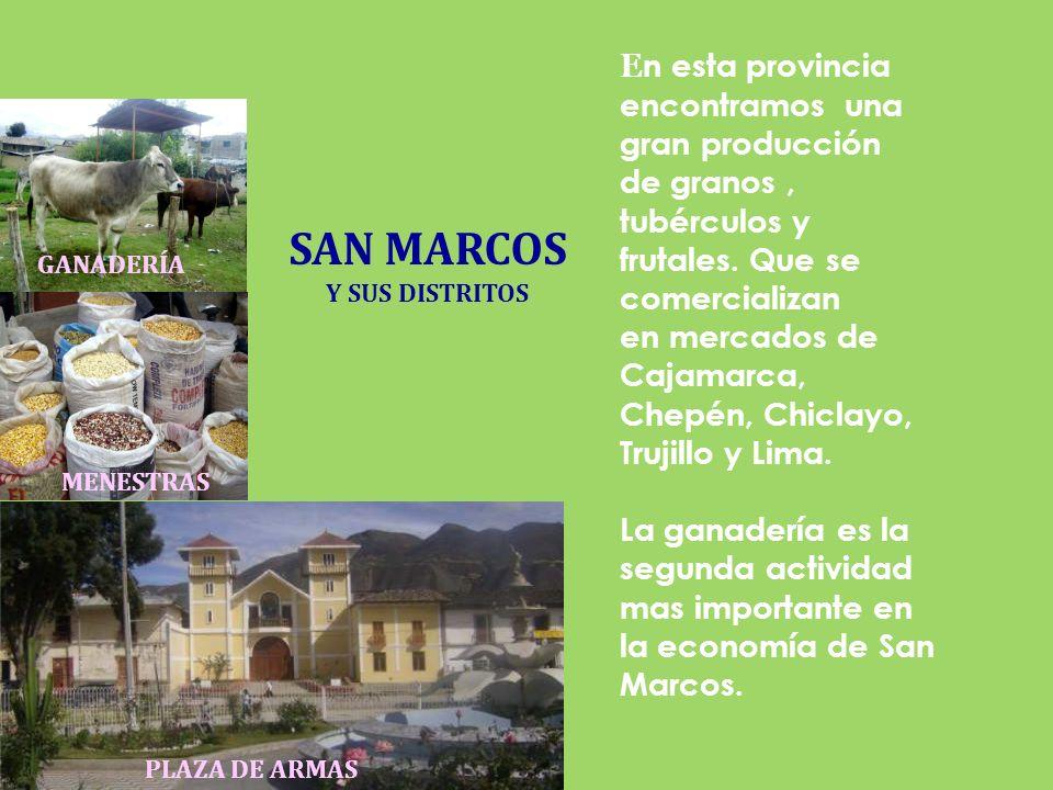 CAJABAMBA Y SUS DISTRITOS Su nombre en quechua se deriva de las voces Ccasa y Pampa, que significa llanura Fría.Cajabamba cuenta con hermosos paisajes