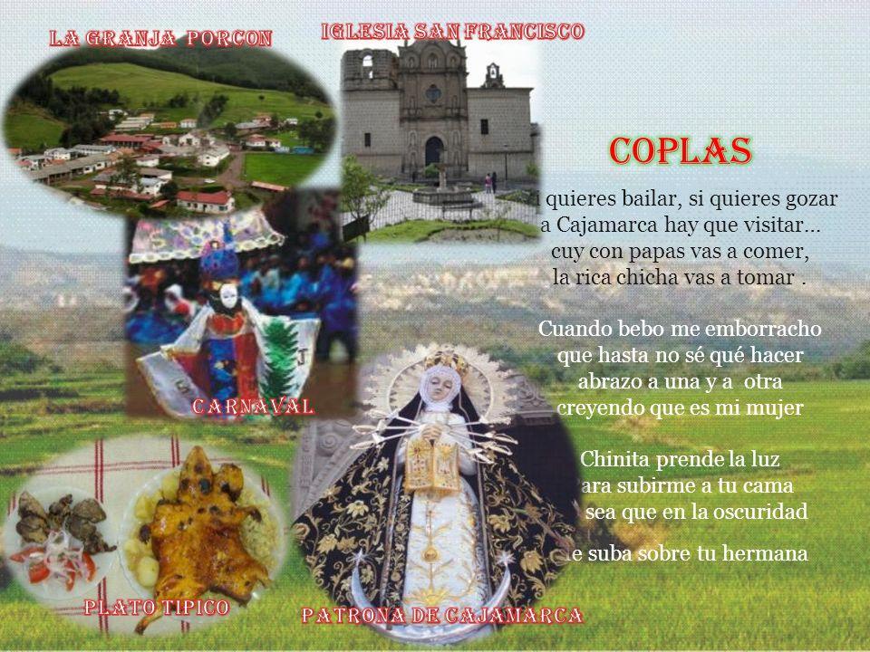 CAJAMARCA Y SUS DISTRITOS El departamento de Cajamarca esta situado en la zona norte andina, presenta zonas de sierra y selva. Su capital, Cajamarca e