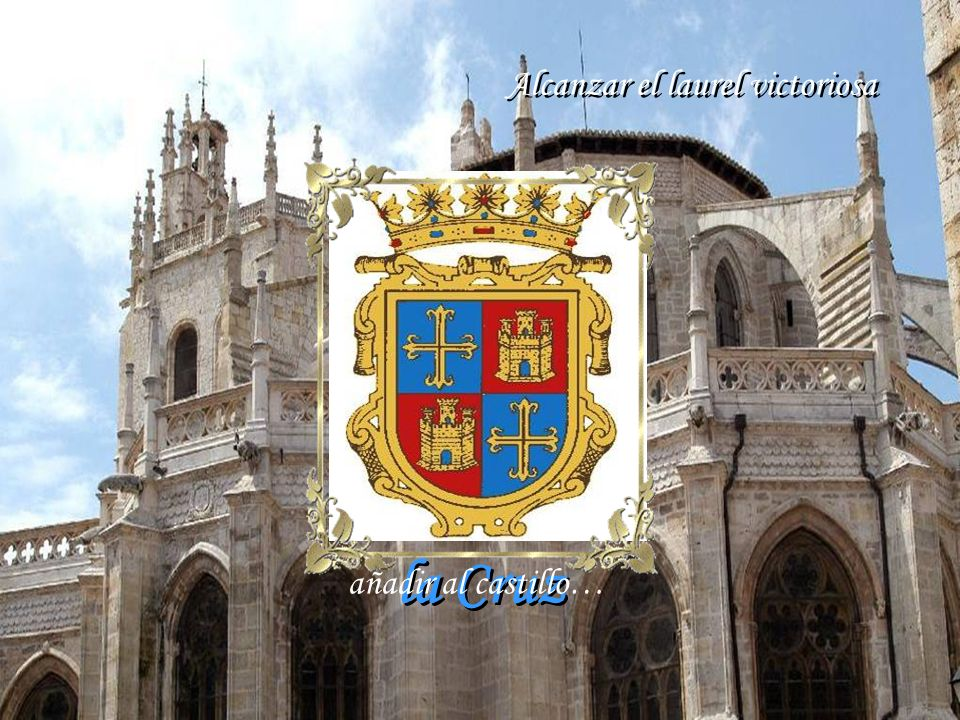 Cuna hidalga de genios ilustres que lograste luchando en Tolosa Cuna hidalga de genios ilustres que lograste luchando en Tolosa