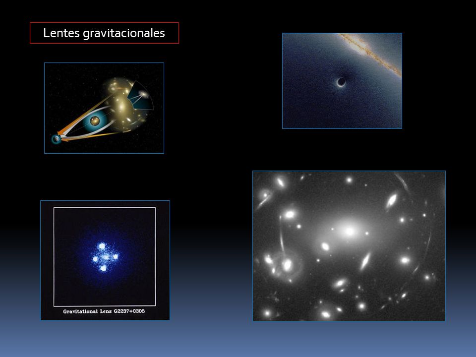 Lentes gravitacionales