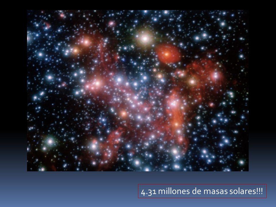 4.31 millones de masas solares!!!