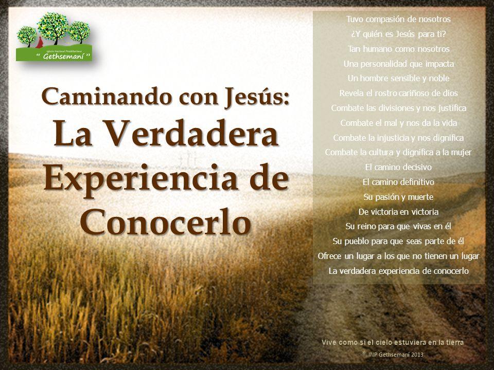 Tuvo compasión de nosotros ¿Y quién es Jesús para ti.