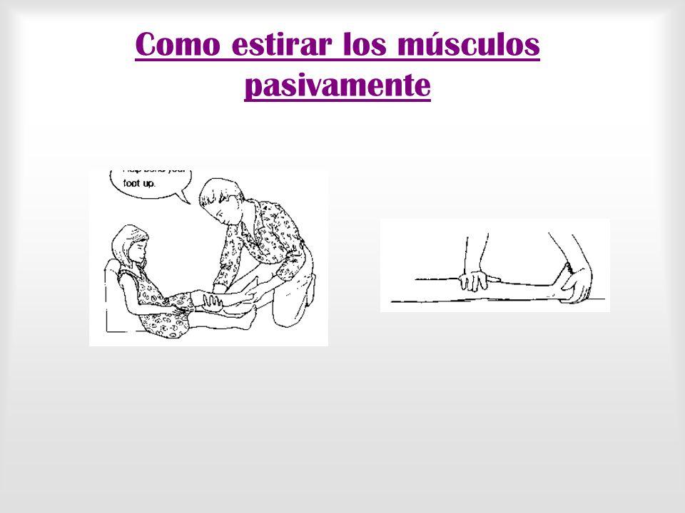 Contractura y deformidades Una contractura es la consecuencia de que un músculo esté acortado y que impida la totalidad del recorrido de un movimiento