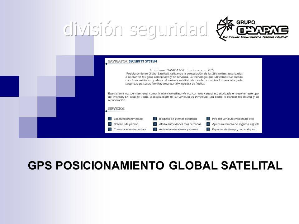 GPS POSICIONAMIENTO GLOBAL SATELITAL