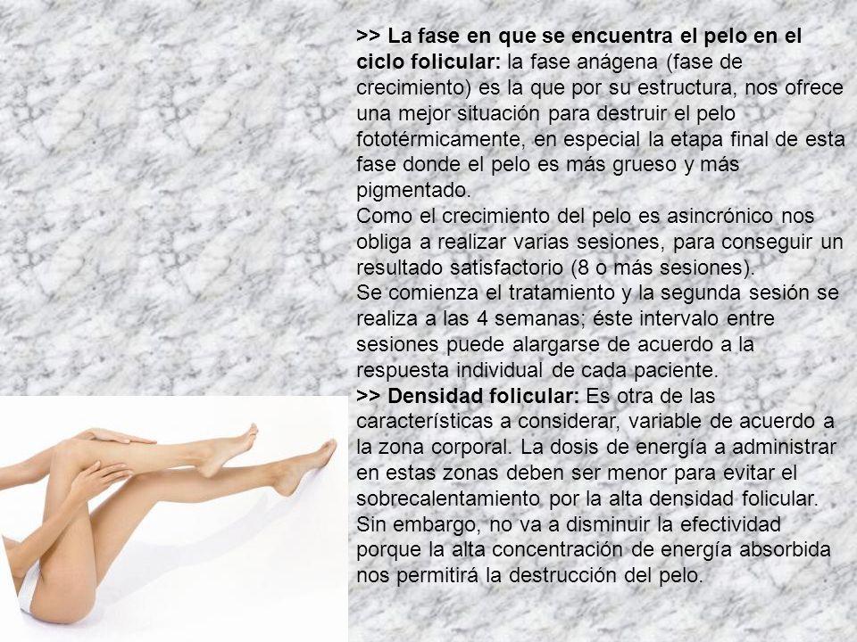 >> ¿Cuáles son los beneficios de la depilación con LASER.