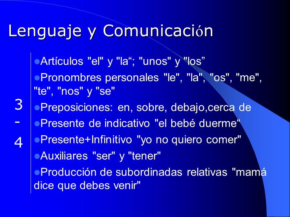Lenguaje y Comunicaci ó n 3-43-4 Artículos