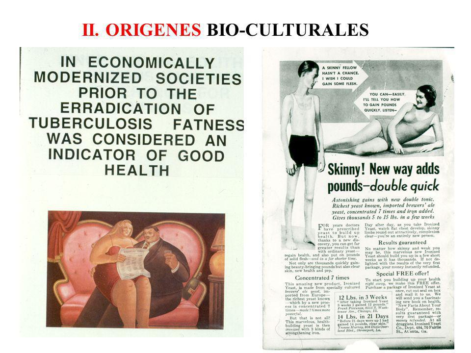II. ORIGENES BIO-CULTURALES