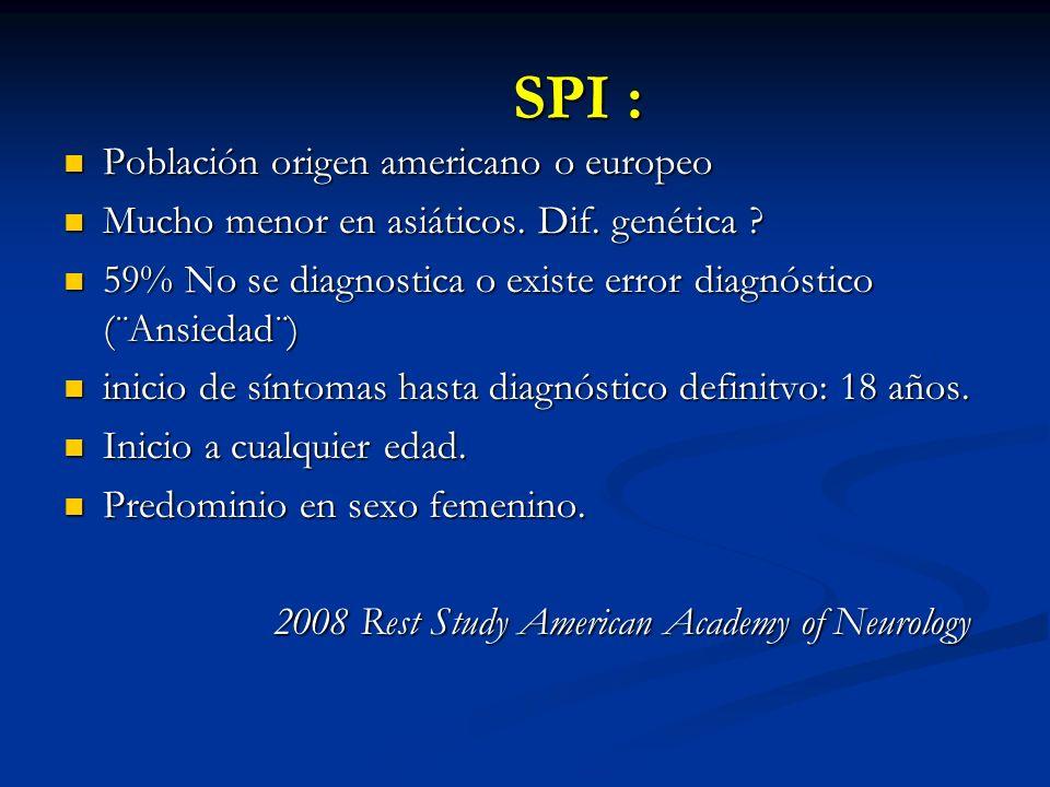 Población origen americano o europeo Población origen americano o europeo Mucho menor en asiáticos.