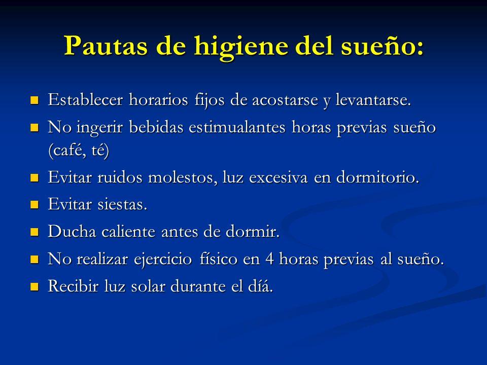 DIAGNOSTICO DIFERENCIAL SPI Acatisia por neurolépticos (aguda, crónica o tardía) Acatisia por neurolépticos (aguda, crónica o tardía) inquietud interior y agitación motora (caminar en el lugar, cruzar/descruzar piernas) Más diurno.