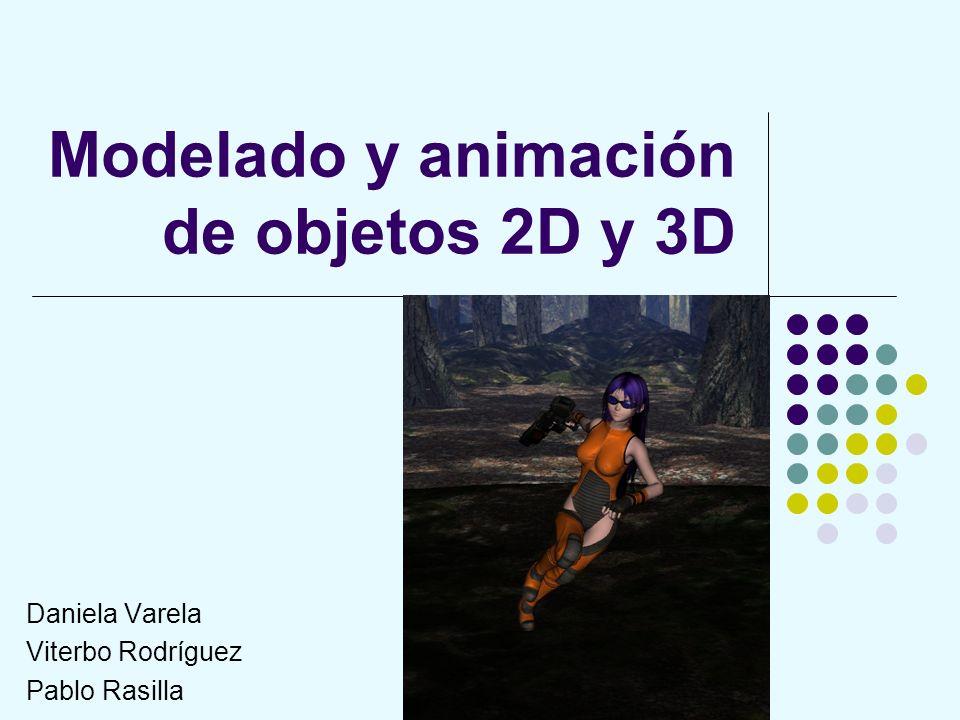 Animación Para animar el modelo se necesita una armazón o esqueleto.