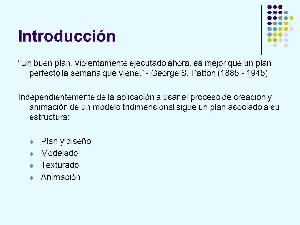 Introducción Un buen plan, violentamente ejecutado ahora, es mejor que un plan perfecto la semana que viene. - George S. Patton (1885 - 1945) Independ