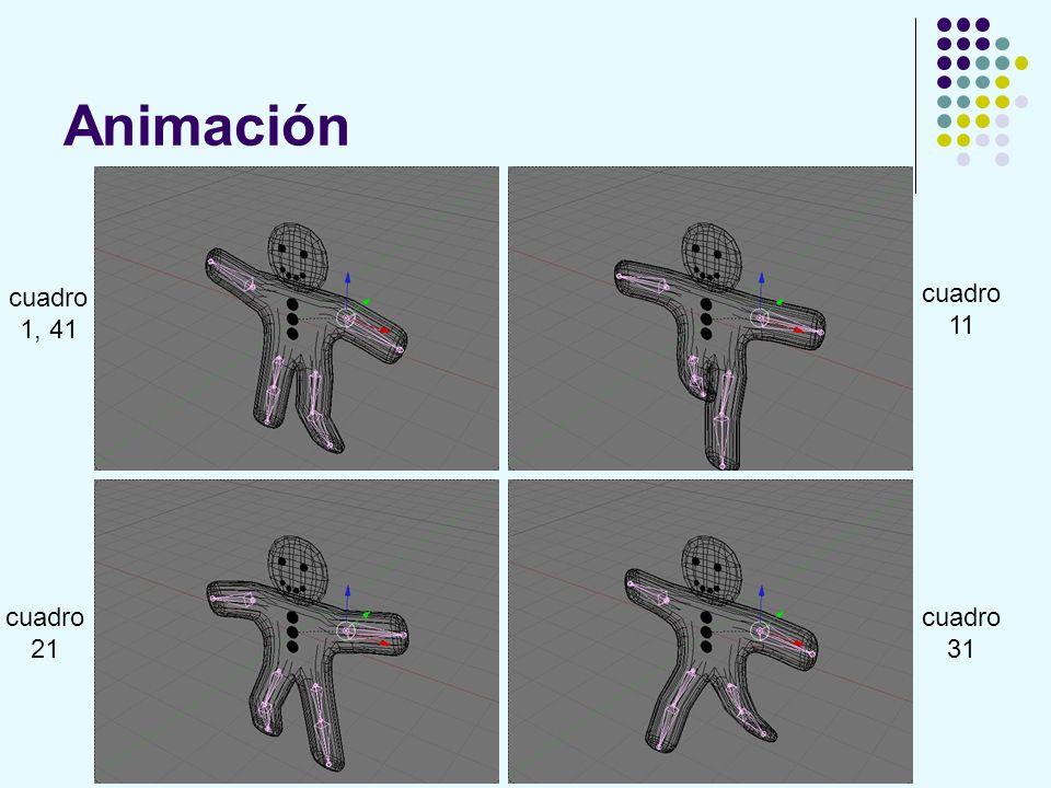 Animación cuadro 1, 41 cuadro 11 cuadro 21 cuadro 31