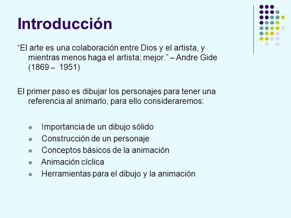 Introducción El arte es una colaboración entre Dios y el artista, y mientras menos haga el artista; mejor. – Andre Gide (1869 – 1951) El primer paso e