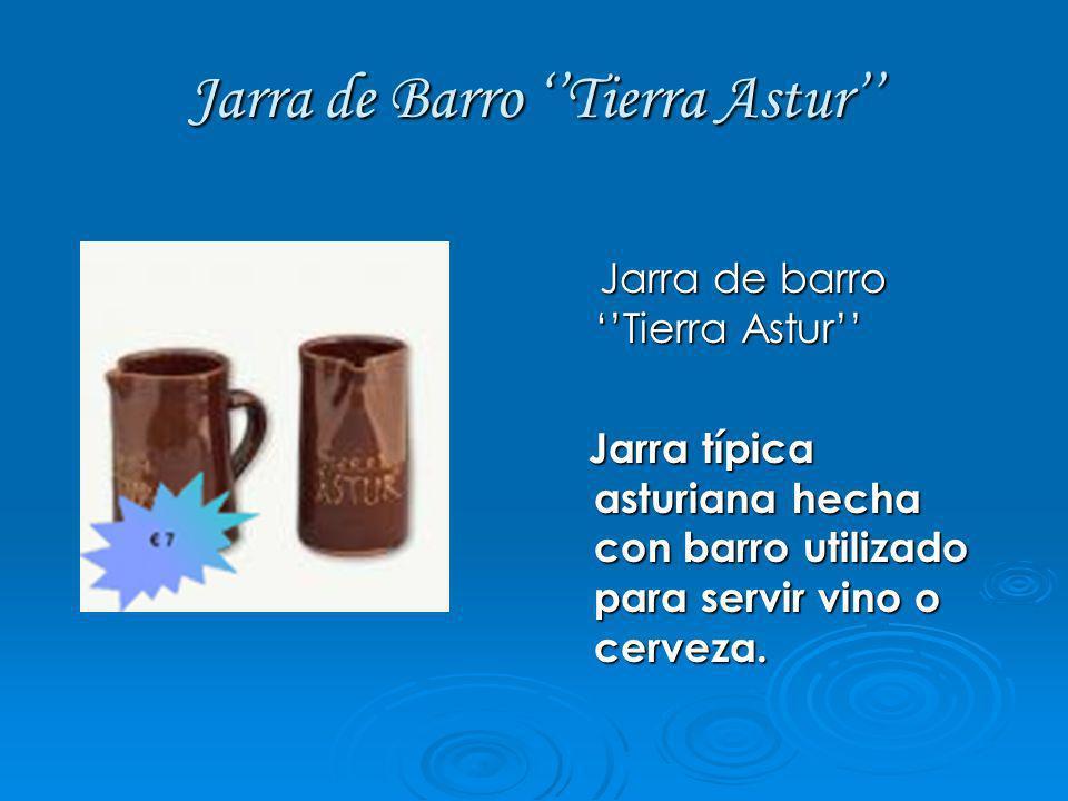 Jarra de Barro Tierra Astur Jarra de barro Tierra Astur Jarra de barro Tierra Astur Jarra típica asturiana hecha con barro utilizado para servir vino