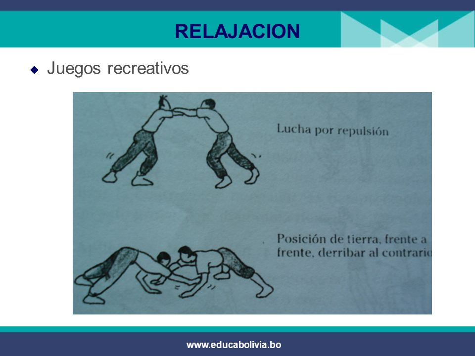 RELAJACION Juegos recreativos