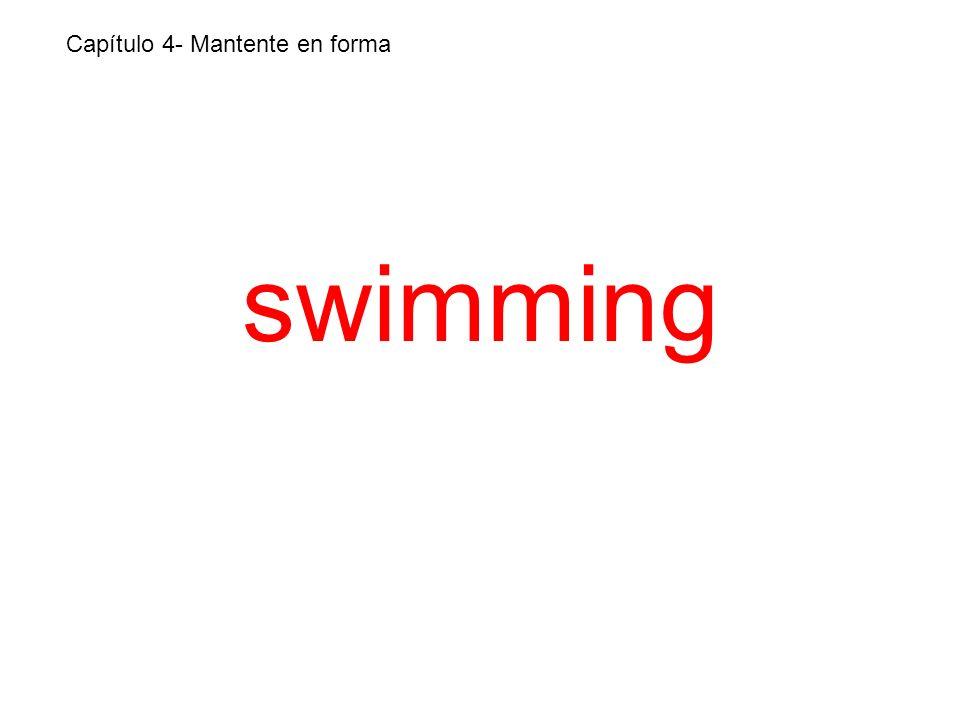 swimming Capítulo 4- Mantente en forma