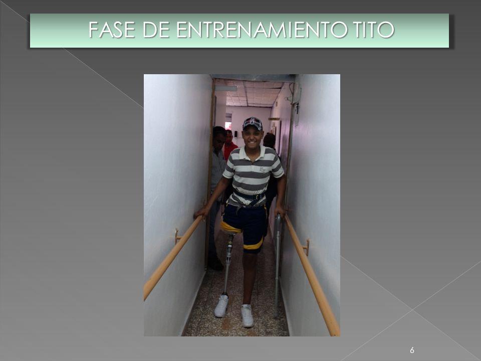 6 FASE DE ENTRENAMIENTO TITO
