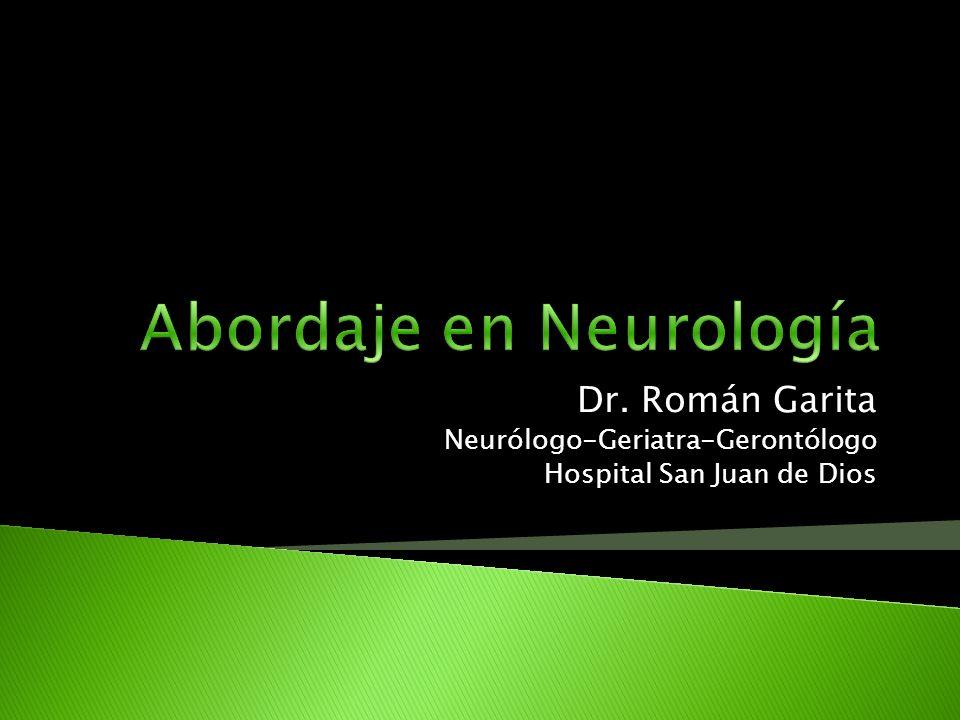 Dr. Román Garita Neurólogo-Geriatra-Gerontólogo Hospital San Juan de Dios