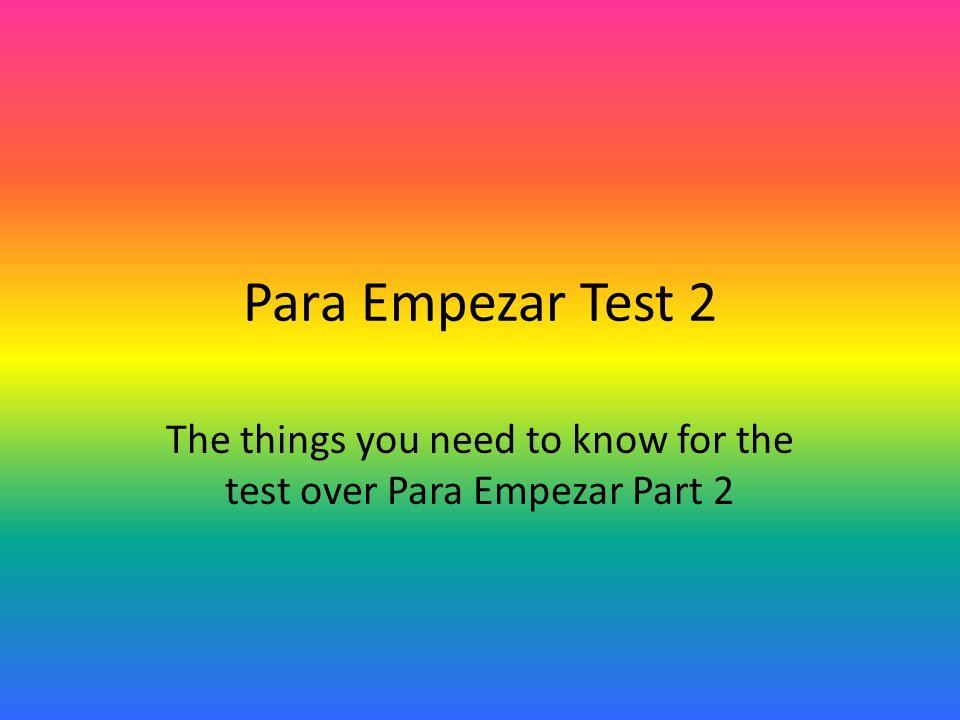 Answers for dates: 1.el primero de marzo 2. el treinta de enero 3.