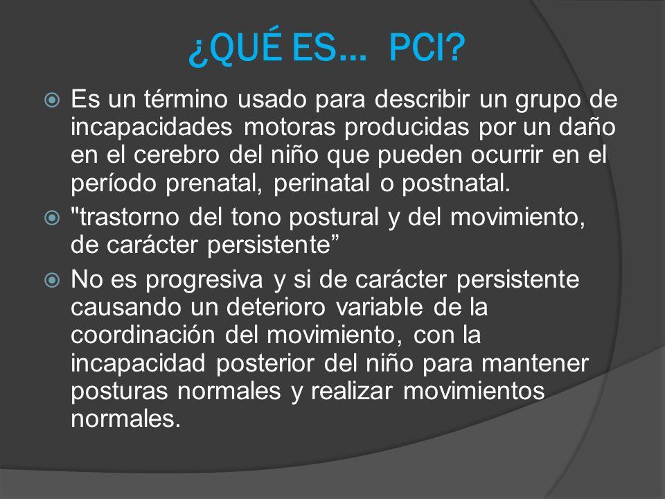 CAUSAS Causas prenatales: Anoxia prenatal.