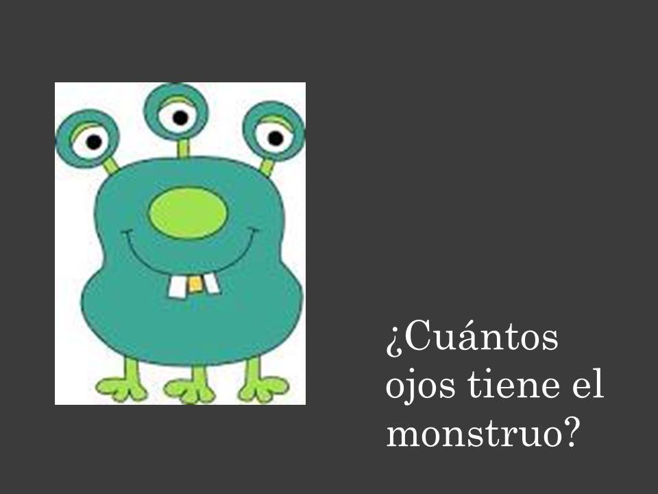 ¿Cuántos ojos tiene el monstruo?