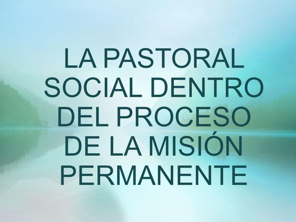 Objetivo: Detonar la misión permanente con la pastoral social dentro de la transversalidad de las demás prioridades de nuestra pastoral diocesana, para hacer efectiva la promoción humana integral de los cristianos para su vida plena en Jesucristo.
