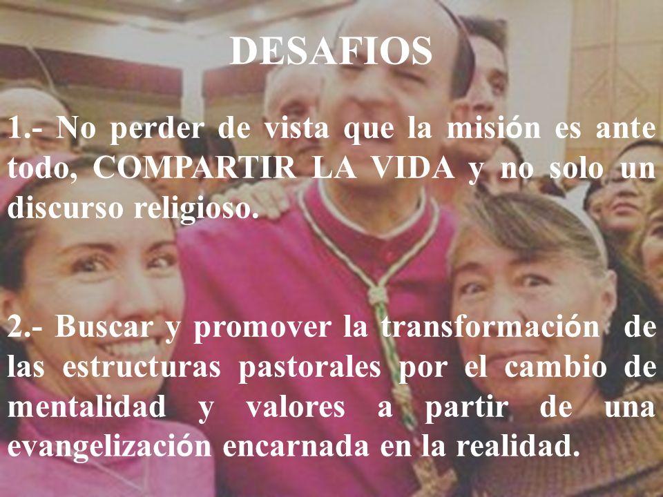 Objetivo: Detonar la misión permanente con la pastoral social dentro de la transversalidad de las demás prioridades de nuestra pastoral diocesana, par