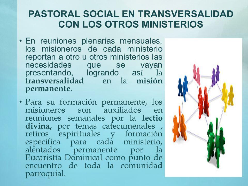 PASTORAL SOCIAL MOTIVACION No busque nadie sus propios intereses, sino más bien el beneficio de los demás. Tengan entre ustedes los mismos sentimiento